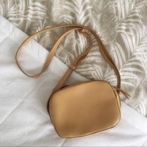 🌿J. Crew🌿 Marlo tan leather crossbody bag